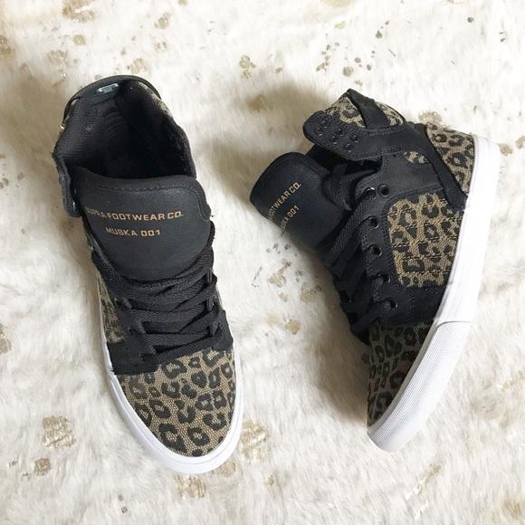 Supra Shoes | Supra Leopard Print